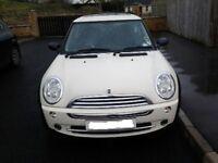 2005 Mini One 3 door hatchback 1.6lt petrol LADY OWNER