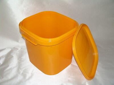 Kunststoffeimer groß - orange - 38,1l  40x40x37cm