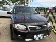 2010 Ford Territory SY Mkii TS RWD Maroon 4 Speed Sports Automatic Wagon Maidstone Maribyrnong Area Preview