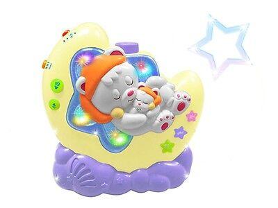 Einschlafhilfe mit Nachtlicht baby Spieluhr projektor sternhimmel schlaflicht