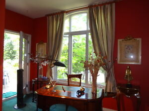 Four Pairs of Drapes
