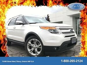 2013 Ford Explorer Limited, Leather, Navigation, Local trade!!!