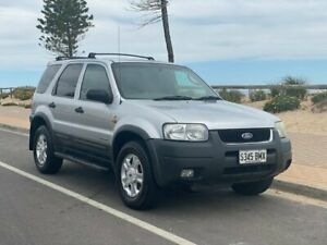 2001 Ford Escape BA XLT Silver 4 Speed Automatic SUV Christies Beach Morphett Vale Area Preview