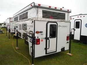 2018 Palomino Backpack SS1240 Pop up Truck Camper w Toilet