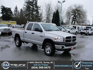2009 DODGE RAM 2500 CREW CAB SHORT BOX 4X4 HEMI