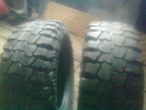 Pair of 35/12.5/17 Mud Country Pair of BFG Mud Terrain 255/75/17