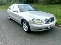 Mercedes Benz S Class S320 Cdi Full luxury Automatic car Superb drives 12 months mot hpi clear