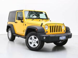 2015 Jeep Wrangler JK MY15 Sport (4x4) Yellow 5 Speed Automatic Softtop