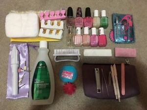 Manicure set with OPI and essie nail polish
