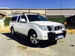 2011 Nissan Navara D40 Series 4 ST-X (4x4) White 6 Speed Manual Dual Cab Pick-up Beckenham Gosnells Area Preview