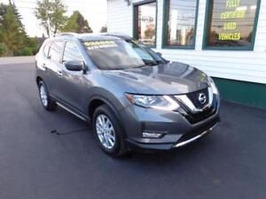 2017 Nissan Rogue SV AWD for only $215 bi-weekly all in!