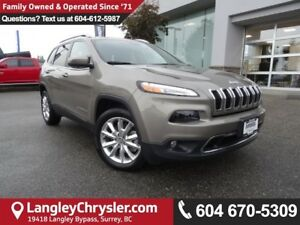 2017 Jeep Cherokee Limited *ACCIDENT FREE*ONE OWNER*LOCAL BC...