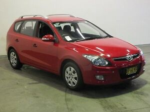 2011 Hyundai i30 FD MY12 CW SX 2.0 Red 4 Speed Automatic Wagon Westdale Tamworth City Preview