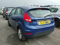 FORD FIESTA 8 REAR BUMPER 2009 - 201 BLUE BREAKING SPARES PARTS USED