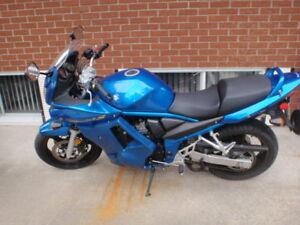 Moto Suzuki Bandit GSF650