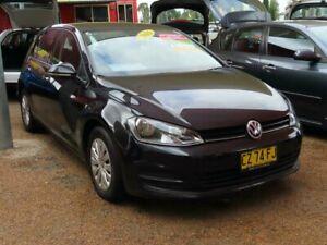 2016 Volkswagen Golf VII MY16 92TSI DSG Black 7 Speed Sports Automatic Dual Clutch Hatchback Minchinbury Blacktown Area Preview
