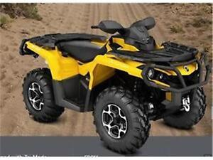 2016 CAN-AM Outlander 850 XT