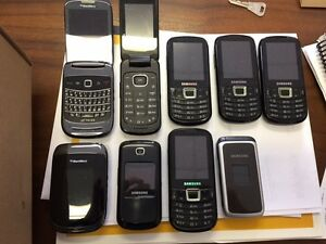 several cell phones for sale