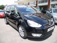 FORD GALAXY 2.3 GHIA 5d AUTO 161 BHP (black) 2008