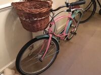 Pashley Ladies bicycle Tube rider. With wicker Basket.