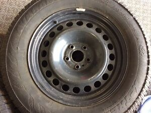 4 - 17 inch steel wheels