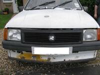 Vauxhall Nova 2 Door Saloon 1988 (Spares/Repair)