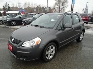 2011 Suzuki SX4 **LOADED!! A/C, CRUISE & MORE** JX AWD