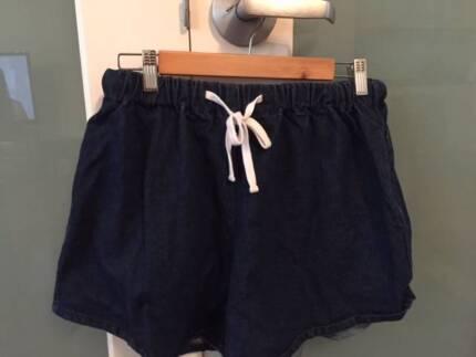 ASSEMBLY LABEL- denim shorts