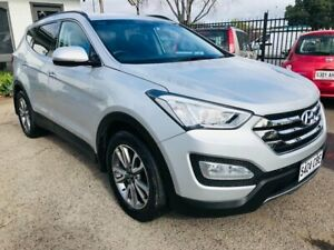 2014 Hyundai Santa Fe DM Elite CRDi (4x4) Silver 6 Speed Automatic Wagon Woodville Park Charles Sturt Area Preview