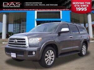 2012 Toyota Sequoia Limited Navigation DVD 7 Pass Sunroof