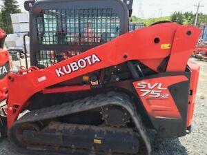 2016 Kubota Track Loader