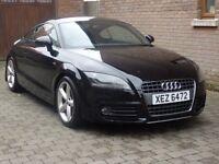 09 Audi TT S Line 2.0T FSI. TRADE IN WELCOME £8850