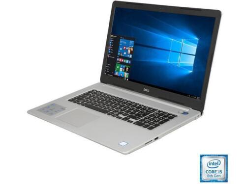 "DELL i5770-5286SLV 17.3"" Laptop Intel Core i5 8th Gen 8250U (1.60 GHz) 1 TB HDD"