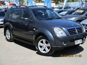 2008 Ssangyong Rexton Y220 II MY08 RX270 XVT SPR Grey 5 Speed Sports Automatic Wagon Gepps Cross Port Adelaide Area Preview