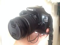 CANON EOS 1100D with 18-55mm Lens (like new)