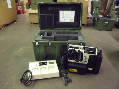 Physio Control Lifepak 10 Monitor With Paddles Ac Power Supply Case More