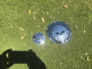 Derby and timer skull cover harley sportster 2010 Pearce Woden Valley Preview