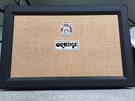 Orange PPC212 Closed Back Black Guitar Amp Cabinet - 120W