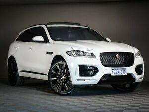 2016 Jaguar F-PACE X761 MY17 35t AWD R-Sport White 8 Speed Sports Automatic Wagon Maddington Gosnells Area Preview