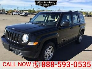 2015 Jeep Patriot 4WD SPORT Bluetooth,