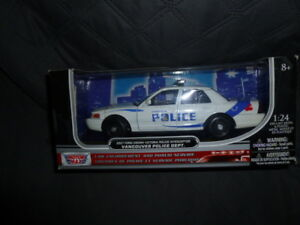 Diecast police cars 1/24 Various $ 20.00 each