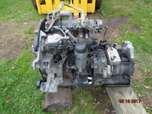 VW ENGINE 1.9 TDI DIESEL AND TRANSMISSION WITH ALL PARTS
