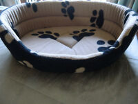 Cat or Dog Bed With Removable Cushion Pad