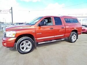 2008 Dodge RAM 1500 4WD QUADCAB LARAMIE For Sale Edmonton
