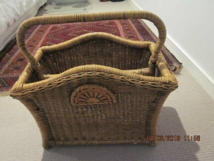 Easter basket gift art gumtree australia south canberra vintage carry basket negle Gallery