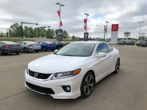 2015 Honda Accord Coupe EX-L-NAVI V6- Local Trade, One Owner!