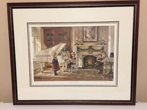 "TRISHA ROMANCE ""THE RECITAL"" SIGNED/NUMBERED PRINT"