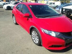 2012 Honda Civic 9th Gen VTi-S Red Semi Auto Hatchback Greenslopes Brisbane South West Preview
