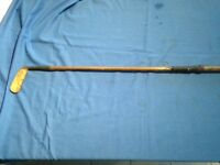 Hickory shafted golf club