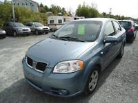2007 PONTIAC WAVE SE MODEL 4 DR AUTO WITH SUNROOF! NEW MVI